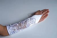 Перчатки праздничные для девочки 0044