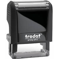 "Стандартный штамп TRODAT Printy 4911 ""СПЛАЧЕНО+ ДАТА"" 38х14 мм, корпус: черный (4911 P4) (Австрия)"