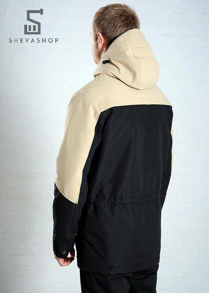 Бежевая куртка на весну осень мужская