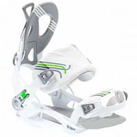 Крепления для сноуборда SP Rage FT 540 (5 цветов) S, белый