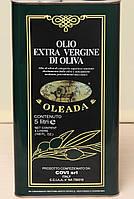Масло оливковое Oleada (Олеада) Extra Vergine 5l