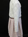 Детское розовое платье с болеро., фото 3