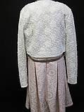 Детское розовое платье с болеро., фото 4