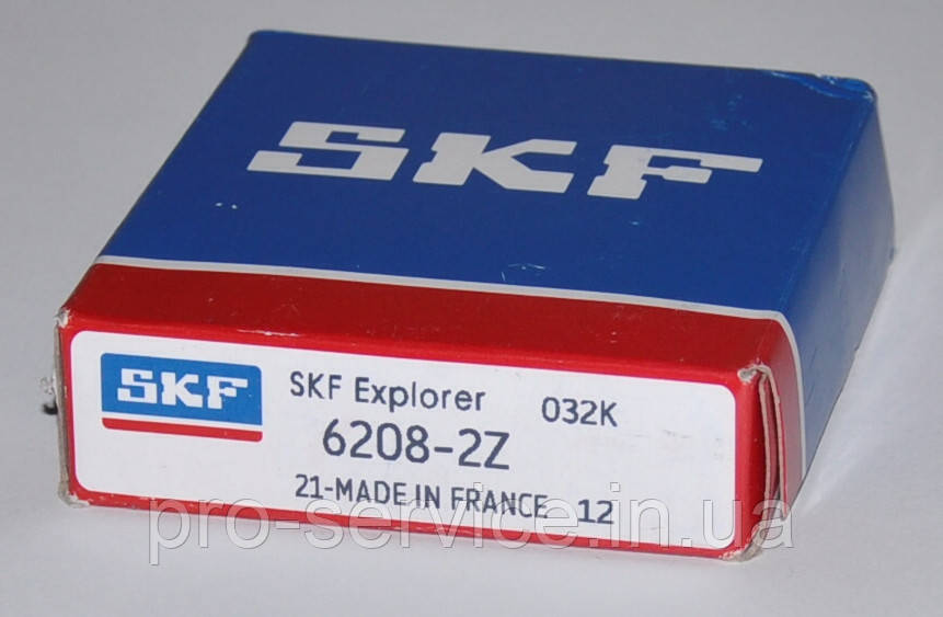 Подшипник SKF 6208-2Z для стиральных машин