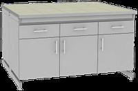 Стол лабораторный островной UOSLab СЛО-3.091.053 1200х1400х900мм