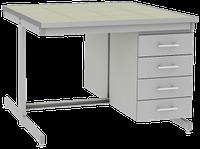 Стол лабораторный островной UOSLab СЛО-3.041.053 1200х1400х900мм