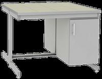 Стол лабораторный островной UOSLab СЛО-3.051.053 1200х1400х900мм