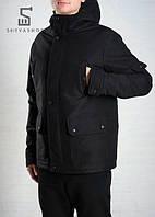 Демисезонная мужская куртка F&F Classic черная, фото 1