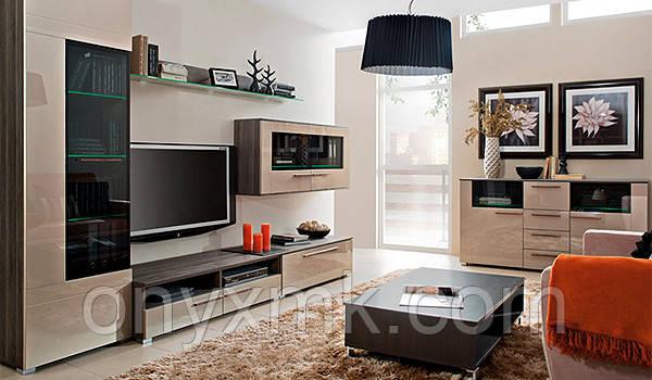 Мебель для гостинной в стиле хай-тек