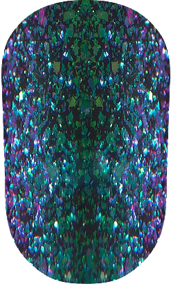 "Гель-лак OXXI Professional ""Хамелеон"" №2 (Фиолетово-зеленый) 10 мл, фото 2"