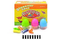 """Набор для творчества """"Динозавр в яйце"""" - пластилин + форма, (12 шт. в упаковке), 9177"""