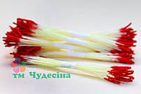 Тычинки Тайские,красные,длинные,желтая нить