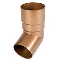 Коліно труби Bryza 125 67 градусів 90,2х145х84,5 мм Вінниця