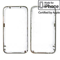 Рамка крепления тачскрина для Apple iPhone 3G/3GS, оригинал (серебристая)