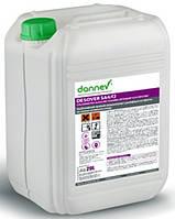Моющее щелочное низкопенное средство с дезинфицирующим эффектом на основе активного хлора DESOVER SA4/F 23 кг.
