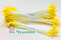Тычинки Тайские,желтые,длинные,белая нить