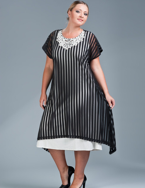 Как выбрать платья большого размера?