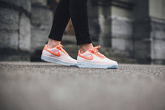 Женские кроссовки nike air force 1 flyknit АТ-419