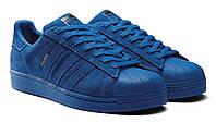 Мужские кеды Adidas Superstar 80s City Paris (Адидас) синие