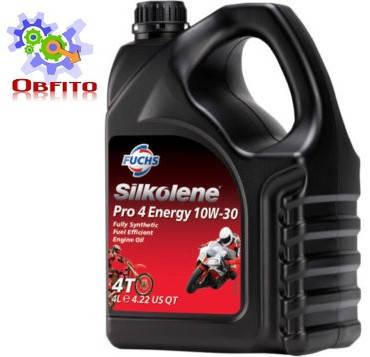 Масло моторное синтетическое Silkolene Pro 4 Energy 10w-30 4л
