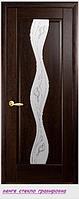 """Дверное полотно ''De Luxe'' """"Волна"""" стекло гравировка"""