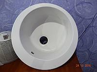 Гранитная мойка круглая, модель №01 сток уценка