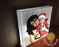 Фотосветильник - 3D светильник с вашим фото. Подарок другу, близким