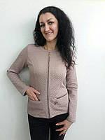 Модный приталенный пиджак с карманами