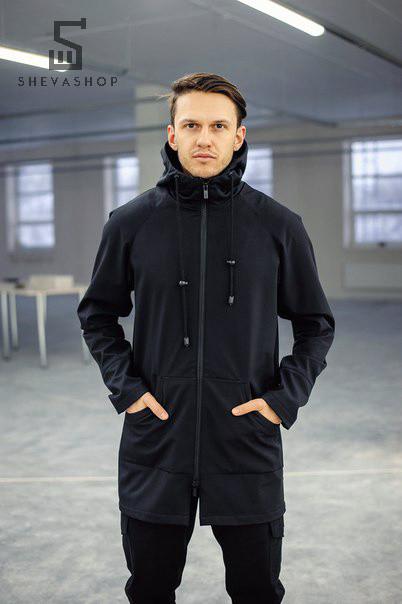Черная мужская куртка весна