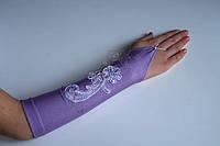 Детские нарядные перчатки 0085