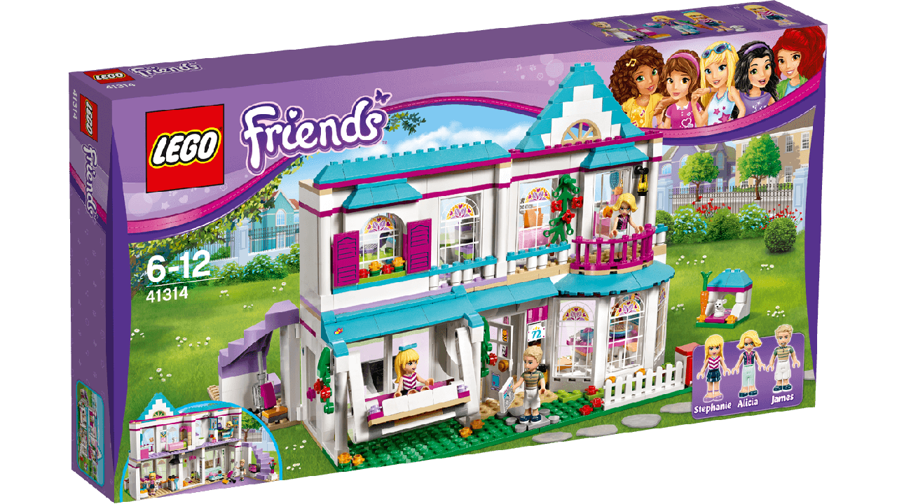 LEGO® Friends ДОМ СТЕФАНИ  41314