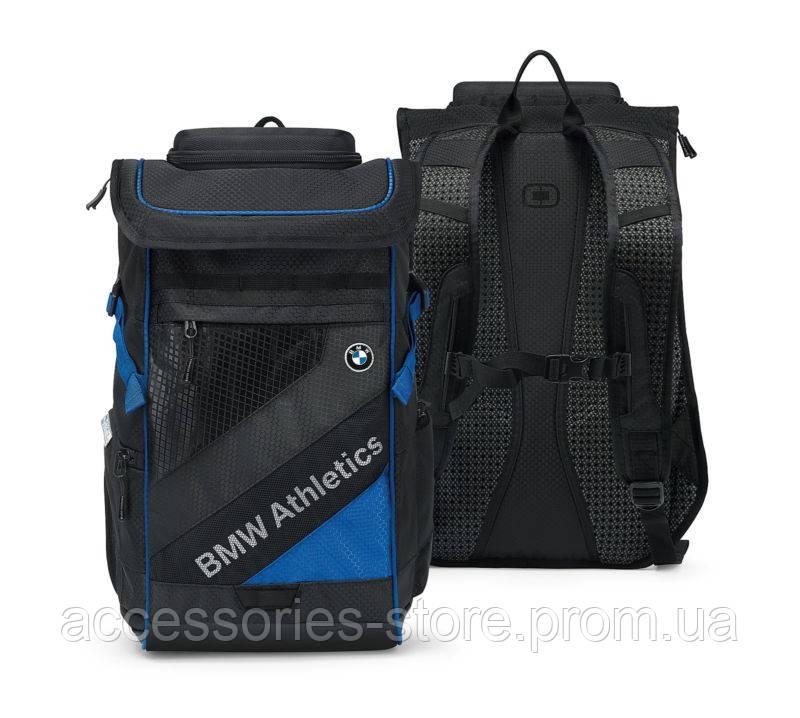 Рюкзак BMW Athletics Performance Backpack, Black/Royal Blue
