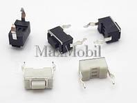 BD01 Кнопка тактовая DIP 2-pin 3.4x6x4.3мм