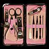 Маникюрный набор в декорированном футляре, 10 инструментов, фото 6