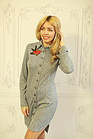 Платье женское свободного кроя весна