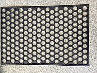 Резиновый коврик Сотовый 600х400 мм