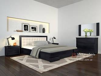 Кровать с подъемником Регина ЛЮКС бук 160х200(190)