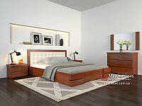 Кровать с подъемником Регина ЛЮКС сосна 180х200(190)