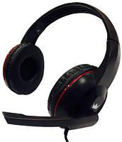 Наушники Crown CMH-911 с микрофоном для ПК черная (CMH-911 Black)