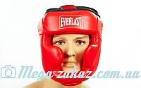 Шлем боксерский с полной защитой Elast 6001 (шлем бокс): 3 цвета, M/L