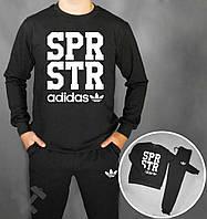 Спортивный костюм Adidas SPR STR черного цвета