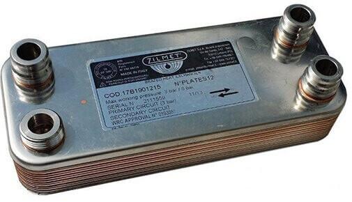 Теплообменник к газовому котлу вайлант Кожухотрубный испаритель WTK SCE 583 Саранск