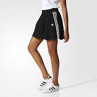 Классическая женская юбка для повседневной носки Adidas Originals 3-Stripes BK2327
