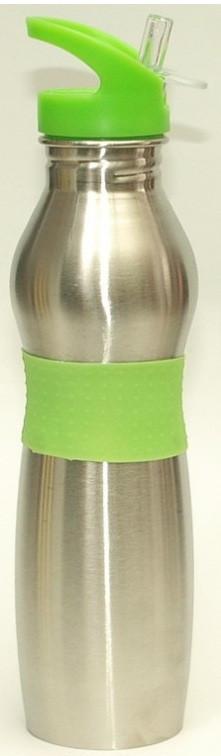 Термос бутылка с трубочкой 0,500л