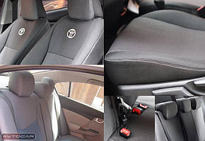 Чехлы Toyota Carina 2 с 1987-1992 ✓кузов: седан✓ подкладка: войлок
