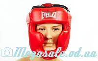 Шлем боксерский с полной защитой Elast 6001 (шлем бокс): 3 цвета, M/L, фото 1