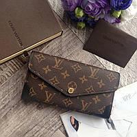Женский кожаный кошелек Louis Vuitton кожаный кошелек уголок LV