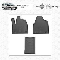 Коврики резиновые в салон Fiat Scudo c 1995- (3шт) Stingray