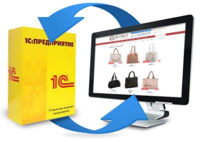Модуль 1С для автоматизации торговли интернет-магазина