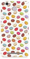 Чехол для Xiaomi Redmi 3S Pro (Пончики)